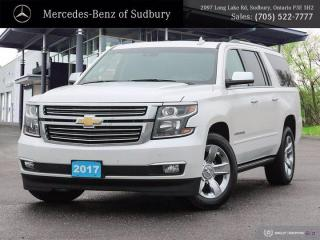 Used 2017 Chevrolet Suburban Premier - ONE OWNER ! for sale in Sudbury, ON