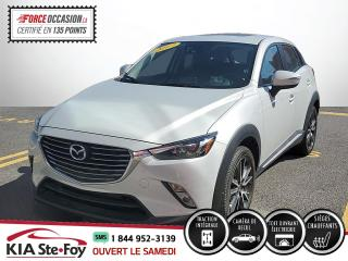 Used 2017 Mazda CX-3 GT* TOIT OUVRANT* SIEGES CHAUFFANTS* AWD for sale in Québec, QC
