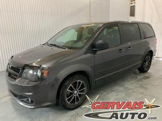 Used 2017 Dodge Grand Caravan SXT BlackTop DVD Bluetooth Caméra Mags *Stow N Go 7 Passagers* for sale in Shawinigan, QC