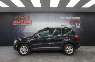 Used 2015 Volkswagen Tiguan TRENDLINE 4MOTION TSI AUTO + MAGS SIÈGES BLUETOOTH for sale in Lévis, QC
