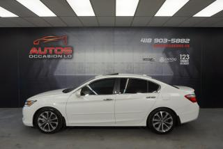 Used 2013 Honda Accord TOURING AUTO + CUIR TOIT OUVRANT + GPS NAVI CAMERA for sale in Lévis, QC