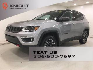 New 2020 Jeep Compass Trailhawk 4x4 V6 | Leather | Sunroof | Navigation | for sale in Regina, SK
