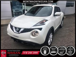 Used 2017 Nissan Juke CVT familiale 5 portes traction intégral for sale in Montmagny, QC