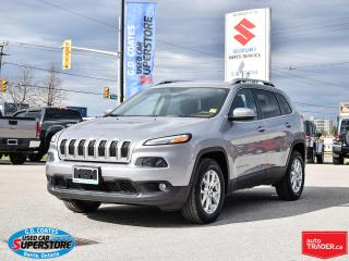 Used 2016 Jeep Cherokee North 4x4 ~3.2 V6 ~Nav ~Cam ~Heated Seats + Wheel for sale in Barrie, ON
