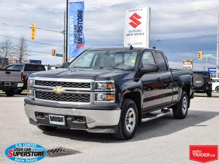 Used 2015 Chevrolet Silverado 1500 DOUBLE CAB 4X4 for sale in Barrie, ON