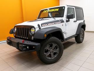 Used 2018 Jeep Wrangler RUBICON RECON 4X4 SIÈGES CHAUFF NAVIGATION *CUIR* for sale in Mirabel, QC