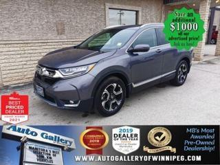 Used 2018 Honda CR-V Touring* AWD/Leather/SUNROOF/NAV/HONDA SENSING for sale in Winnipeg, MB