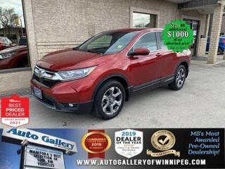 Used 2019 Honda CR-V EX-L*AWD/LEATHER/SUNROOF/HEATED SEATS/TURBO for sale in Winnipeg, MB