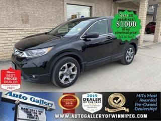Used 2017 Honda CR-V EX* AWD/ Sunroof/Reverse Camera/PUSH START for sale in Winnipeg, MB