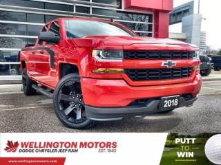 Used 2018 Chevrolet Silverado 1500 Custom >> One Owner >> 4x4  !! for sale in Guelph, ON
