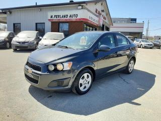 Used 2015 Chevrolet Sonic Berline 4 portes LT à b. auto. for sale in Sherbrooke, QC