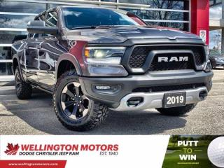 Used 2019 RAM 1500 Rebel / Crew Cab / New Tires / Hemi .... for sale in Guelph, ON