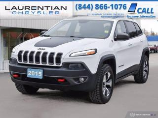 Used 2015 Jeep Cherokee Trailhawk!!  AWD!!  BACKUP CAM!!  LEATHER!! for sale in Sudbury, ON