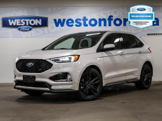 Used 2019 Ford Edge ST+CAMERA+HEATED&COOLED FRONT SEATS+NAVIGATION+DEMO for sale in Toronto, ON