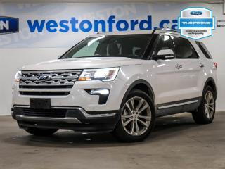 Used 2019 Ford Explorer LIMITED+REMOTE START+NAVIGATION+CAMERA+LEATHER+DEMO for sale in Toronto, ON