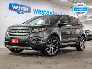 Used 2017 Ford Edge Titanium AWD+V6+LEATHER+PANORAMICROOF+NAVIGATION+BLINDSPOTSYS+CERTIFIED for sale in Toronto, ON