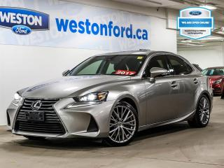 Used 2017 Lexus IS 300+AWD+LTHR+ROOF+NAV+CAMERA+ALLOYRIMS+CERTIFIED for sale in Toronto, ON