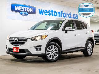 Used 2016 Mazda CX-5 GS+AWD+LTHR+ROOF+NAV+CAMERA+ALLOYWHEELS+CERTIFIED for sale in Toronto, ON