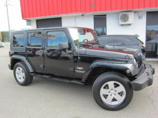 Used 2008 Jeep Wrangler Unlimited Shara $14,995+HST+LIC FEE / HARD AND SOFT TOP / CERTIFIED / CLEAN CARFAX REPORT for sale in North York, ON