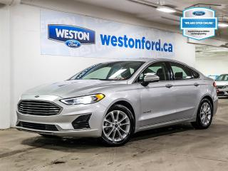 Used 2019 Ford Fusion Hybrid SEL+LANE KEEP ASSIST+CAMERA+HEATED FRONT SEATS+CERTIFIED for sale in Toronto, ON