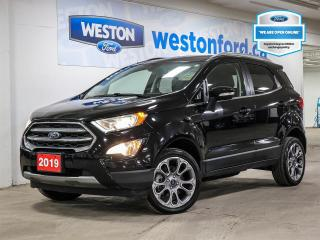 Used 2019 Ford EcoSport Titanium+LEATHER+MOONROOF+NAVIGAITON+SYNC+CERTIFIED for sale in Toronto, ON