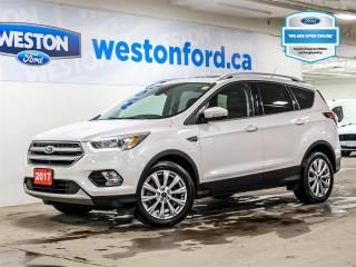 Used 2017 Ford Escape Titanium+AWD+LTHR+NAV+PANOROOF+2SETS OF TIRES&RIMS+CERTIFIED for sale in Toronto, ON