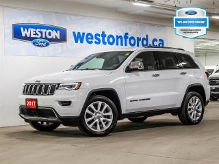 Used 2017 Jeep Grand Cherokee Limited+CAMERA+HEATED STEERING WHEEL+NAVIGATION+CERTIFIED for sale in Toronto, ON
