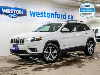 Used 2019 Jeep Cherokee Limited+CAMERA+LEATHER HEATED SEATS+CERTIFIED for sale in Toronto, ON