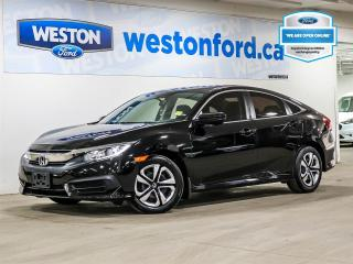 Used 2018 Honda Civic LX+CAMERA+APPLE CAR PLAY/ANDROID AUTO+HEATED SEATS+CERTIFIED for sale in Toronto, ON