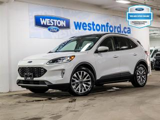 Used 2020 Ford Escape TITANIUM+CAMERA+NAVIGATION+PUSH TO START+DEMO for sale in Toronto, ON