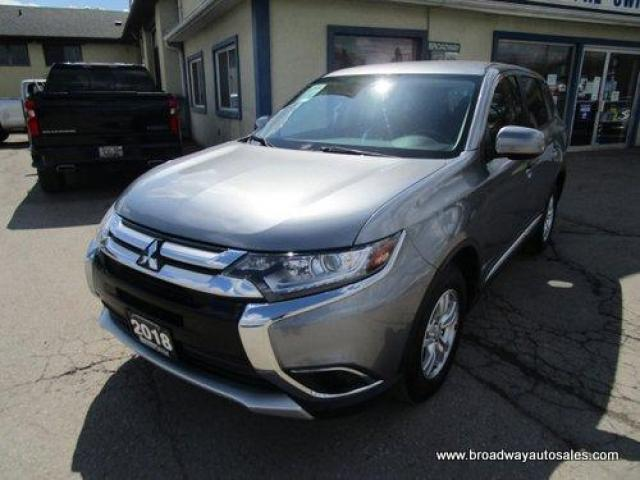 2018 Mitsubishi Outlander ALL-WHEEL DRIVE ES EDITION 5 PASSENGER 2.4L - DOHC.. ECO-MODE-PACKAGE.. HEATED SEATS.. BACK-UP CAMERA.. BLUETOOTH SYSTEM.. KEYLESS ENTRY..