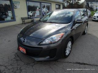 Used 2012 Mazda MAZDA3 POWER EQUIPPED TOURING EDITION 5 PASSENGER 2.0L - DOHC.. HEATED SEATS.. SKYACTIV TECHNOLOGY.. BLUETOOTH SYSTEM.. KEYLESS ENTRY.. for sale in Bradford, ON