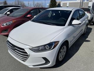 Used 2017 Hyundai Elantra L /AUTOMATIQUE/SIÈGE CHAUFFANT for sale in Sherbrooke, QC
