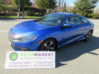 Used 2017 Honda Civic TOURING, AUTO, LOADED, FINANCING, WARRANTY, INSPECTED for sale in Surrey, BC