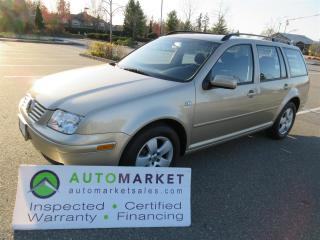 Used 2004 Volkswagen Jetta GLS 2.0 5sp, SUNROOF, FINANCING, INSPECTED, WARRANTY & BCAA MEMBERSHIP for sale in Surrey, BC