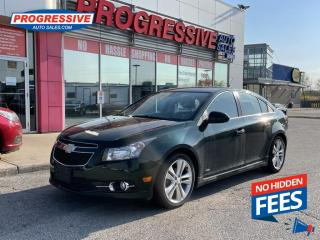 Used 2014 Chevrolet Cruze 2LT AUTOMATIC/SUNROOF/HEATED SEATS for sale in Sarnia, ON