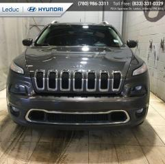 Used 2016 Jeep Cherokee Limited for sale in Leduc, AB