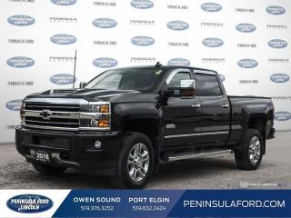 Used 2018 Chevrolet Silverado 2500 HD High Country - $465 B/W for sale in Port Elgin, ON