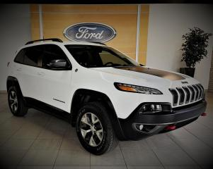 Used 2018 Jeep Cherokee TRAILHAWK -  CUIR/GPS - BAS KM for sale in Drummondville, QC