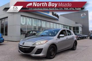 Used 2010 Mazda MAZDA3 GX Manual - AS IS - Cloth - Cruise Control for sale in North Bay, ON