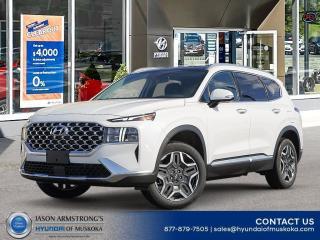 New 2021 Hyundai Santa Fe HEV Luxury for sale in Huntsville, ON