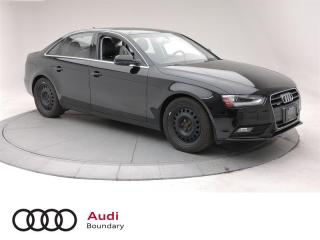 Used 2014 Audi A4 2.0 8sp Tiptronic Progressiv for sale in Burnaby, BC