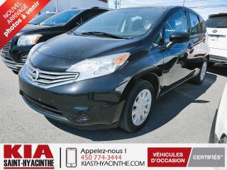 Used 2016 Nissan Versa Note SV ** CAMÉRA DE RECUL / BLUETOOTH for sale in St-Hyacinthe, QC