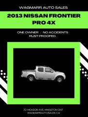 Used 2013 Nissan Frontier for sale in Kingston, ON