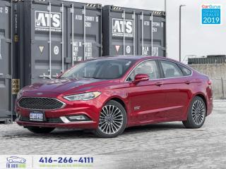 Used 2017 Ford Fusion Energy|Titanium|Low kms|Navi|Camera| for sale in Bolton, ON