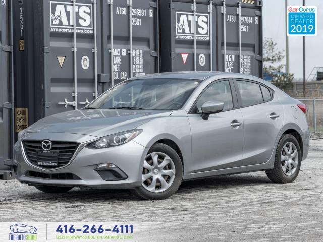 2015 Mazda MAZDA3 GX|Manual|Bluetooth|Steering wheel controls