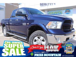 Used 2014 RAM 1500 Outdoorsman | Heated Wheel, One Owner. for sale in Prince Albert, SK