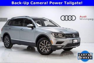 Used 2020 Volkswagen Tiguan Comfortline w/Leather & Sunroof *Very Low KM* for sale in Winnipeg, MB