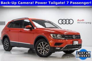 Used 2020 Volkswagen Tiguan Comfortline w/Leather/Sunroof/7 Seat Option *Very Low KM* for sale in Winnipeg, MB