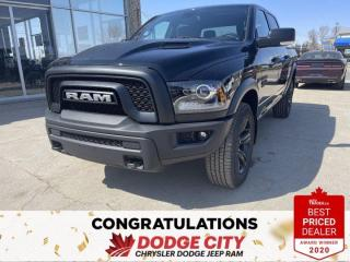 New 2021 RAM 1500 Classic Warlock-4WD,Htd.Seats/Wheel, B/U Camera for sale in Saskatoon, SK